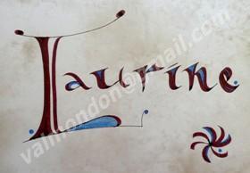 calligraphie de prénom