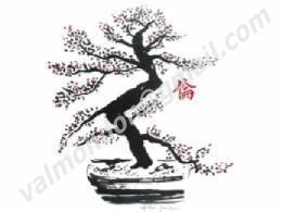 Nature : encre de chine & peinture acrylique